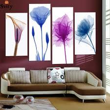Modern Wall Paintings Living Room Popular Painting Purple Walls Buy Cheap Painting Purple Walls Lots