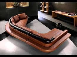Modern Leather Sofa Modern White Leather Sofa Bed Sleeper Youtube