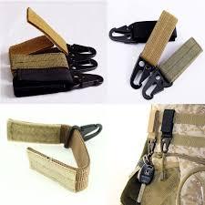 <b>Outdoor Tactical</b> Key Hook Carabiner Hanging Clip <b>Nylon Webbing</b> ...