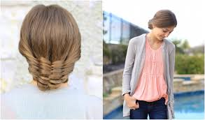 Pretty Girl Hair Style the woven updo cute girls hairstyles youtube 3688 by wearticles.com