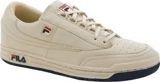 fila athletic shoes. fila cream/e navy original tennis mens shoes athletic t