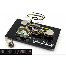 ecp johnny hiland signature wiring harness™ for stratocaster®