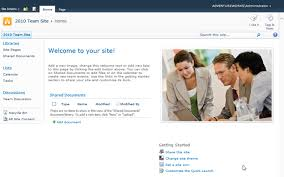 Sharepoint 2013 Site Templates A Few Changes In The Team Site For Sharepoint 2013