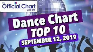 Uk Dance Chart Top 10 September 06 12 2019
