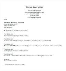 Application Letter And Resume Sample Basic Cover Letter Outline ...