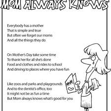Small Picture Mothers Day Kids Poems free printable Tip Junkie