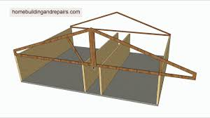 how do roof truss cantilevers work house framing
