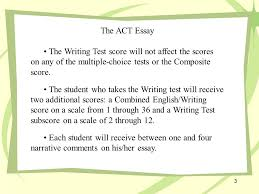 about the act essay the act essay on the act writing test the act essay the writing test score will not affect the scores on any of the