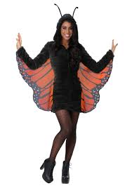 Cozy Wings Size Chart Womens Plus Size Cozy Monarch Costume