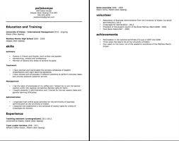 ChronoFunctional Resume Chrono Functional Resume Template A Resume Example In The Chrono 19