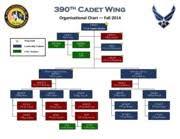 Organizational Chart 390th Cadet Wing Organizational Chart