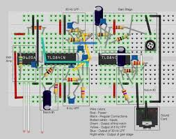 diy eeg and ecg circuit 12 steps pictures breadboard view annotated png