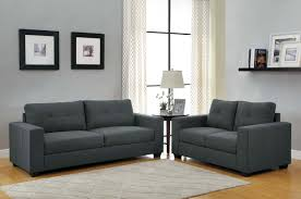 dark gray living room furniture. Brilliant Dark Homelegance Ashmont Sofa Set  Dark Grey Linen For Gray Living Room Furniture
