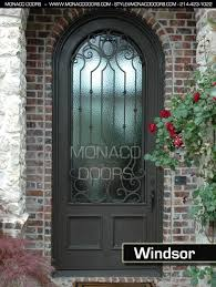 front doors dallasexterior wrought iron doors  Monaco Doors