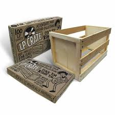 crate farm crate farm ktpf1223 100 12 inch lp wooden vinyl storage crate self