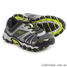fila running shoes for girls. running girls sneakers - fila tko tr trail shoes (for little and big kids for