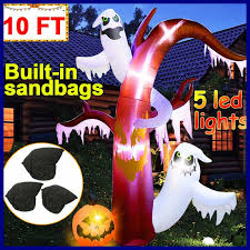 Outdoor Light Up Halloween Tree Category Inflatable Ghost Blowups Page 3
