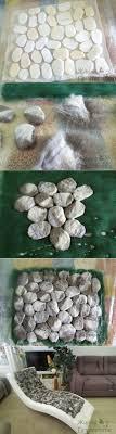 ... how to make felted wool stones felt stone rug etsy lil fish studios img  rocks giant ...
