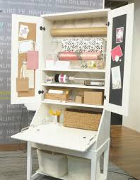 diy secretary desk likeness diy tutorial gift wrapping station using from