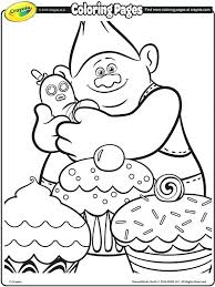 Crayola Coloring Pages Crayola Unicorn Coloring Pages Also Trolls