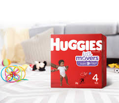 Huggies Little Movers Diapers For Sizes 3 6