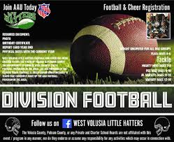 west volusia little hatters needs volunteer football coaches season aug dec 2018 we need help with kids ages 4 14 aau usa football fyfcl