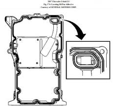2007 chevy cobalt oil pan needs to be replaced because of yes the engine does not need to be removed here s how removal procedure 1 raise and support the vehicle refer to lifting and jacking the vehicle fig