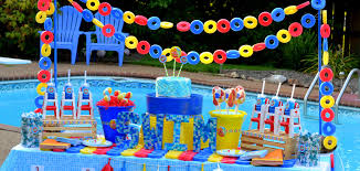 pool party supplies. Brilliant Party Pool Party Birthday Theme On Supplies