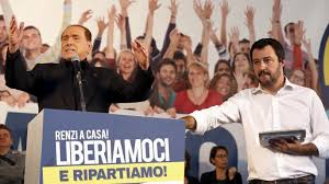 Image result for salvini fascist