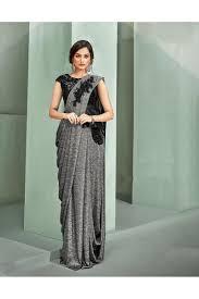 Designer Stitched Saree Mohmanthan Marvella One Minute Designer Readymade Saree 5311