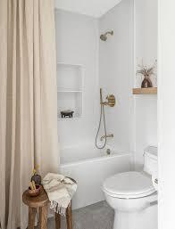 shower curtain or shower door