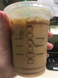 starbucks iced coffee cup. Exellent Coffee We Only Mark Cups As Much We Have To Usually Just The Drink Box Is  Marked And Make Default Way I Wanted My Latte With Caramel Syrup  And Starbucks Iced Coffee Cup I