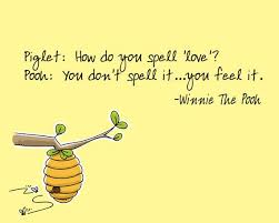 Spell Quote Amazing How Do You Spell Love Winnie The Pooh Quote Etsy