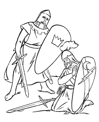 Small Picture Knight Coloring Pages EasyColoringPrintable Coloring Pages Free