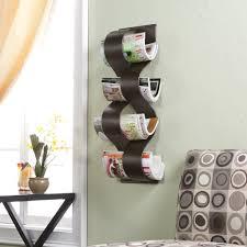 wall mount magazine rack toilet. Amazon.com: Southern Enterprises Wave Wall Mount Magazine Rack: Home \u0026 Kitchen Rack Toilet