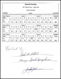 Bill Miller's 206 Story And Scoresheet -- This Was The Record For ...