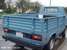 Photos of Original Volkswagen Pickup Trucks; Single Cab and Double ...