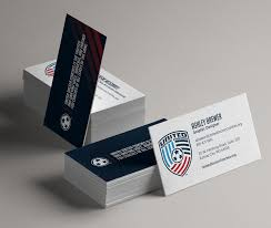 Soccer Business Card Ashley Brewer United Soccer Coaches Business Cards