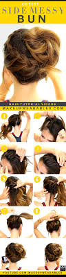 Hairstyle Yourself 3 cutest braided hairstyles mohawk braid messy bun 8570 by stevesalt.us