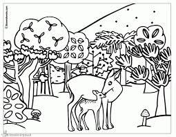 Kleurplaten Bambi Kleurplaten Kleurplaatnl Idee Bambi Kleurplaat