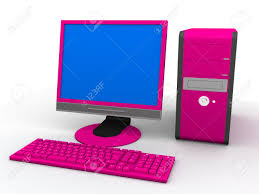 pink computer stock photo 2873202