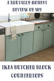 Ikea Wood Countertop Review A Brutally Honest Review Of Ikea Butcher Block Countertops Our