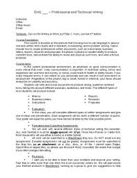 college syllabus template technical writing online course syllabus template and sample