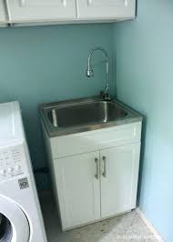 drop in laundry sink for 24 inch cabinet extra deep room amazing 14