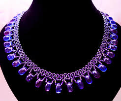 Beaded Necklace Patterns Gorgeous Free Pattern For Beaded Necklace Galaxy Beads Magic