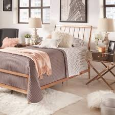 Lincoln Copper Finish Metal Bed by iNSPIRE Q Bold - Free Shipping Today -  Overstock.com - 20649358