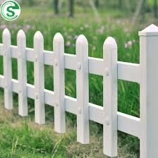 china pvc vinyl picket fence white
