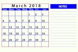 editable calendar march 2018 march 2018 calendar editable printable template