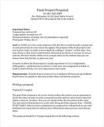 48 Project Proposal Examples Pdf Word Pages Examples