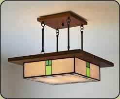 arts and crafts lighting fixture 309 craft craftsman ceiling throughout chandelier idea 2
